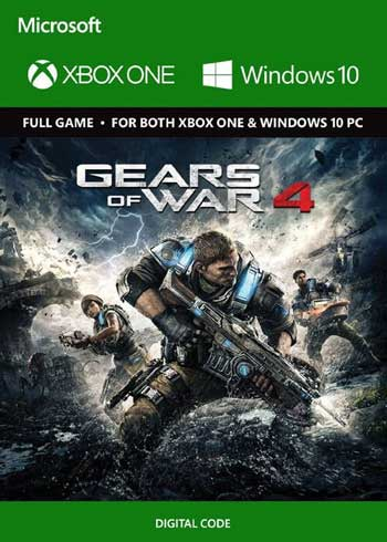 Gears of War 4 Xbox One/PC CD Key Global, CDKEver.com