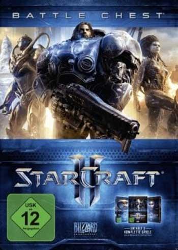 StarCraft 2: Battle Chest 2.0 Battle.net CD Key Global, CDKEver.com
