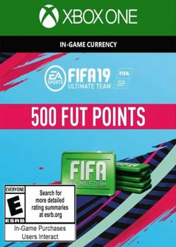 FIFA 19 - 500 FUT Points Xbox One Global, CDKEver.com
