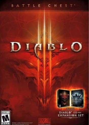 Diablo III Battle Chest Battle.net CD Key Global, CDKEver.com
