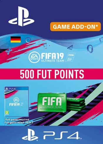 FIFA 19 - 500 FUT Points PS4 DE, CDKEver.com