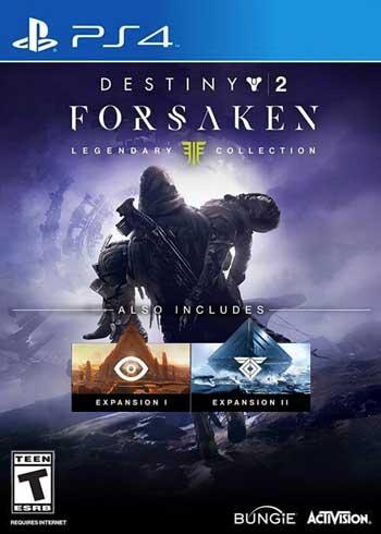 Destiny 2 Forsaken - Legendary Collection PS4 CD Key Europe, CDKEver.com
