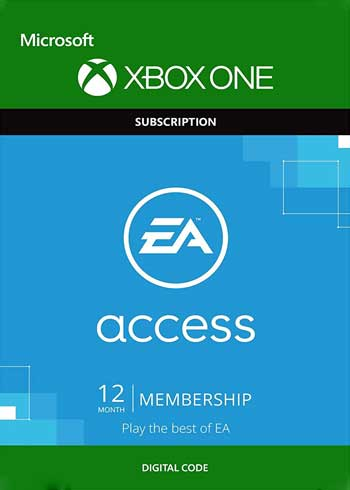 EA Access 12 Month Subscription Xbox One Global, CDKEver.com