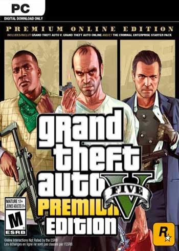 Grand Theft Auto V: Premium Online Edition PC CD Key Global, CDKEver.com