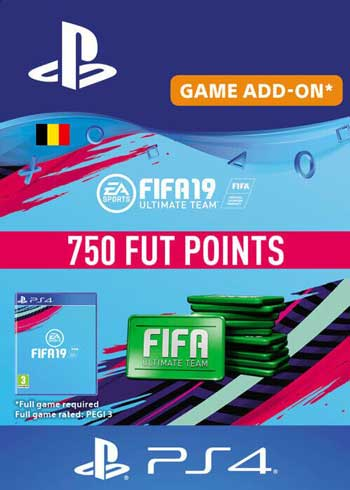FIFA 19 - 750 FUT Points PS4 Belgium, CDKEver.com