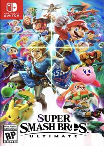 Super Smash Bros. Ultimate Switch CD Key Europe, CDKEver.com