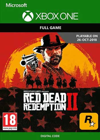 Red Dead Redemption 2 Xbox One CD Key Global, CDKEver.com