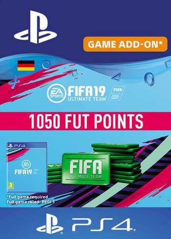 FIFA 19 - 1050 FUT Points PS4 DE, CDKEver.com
