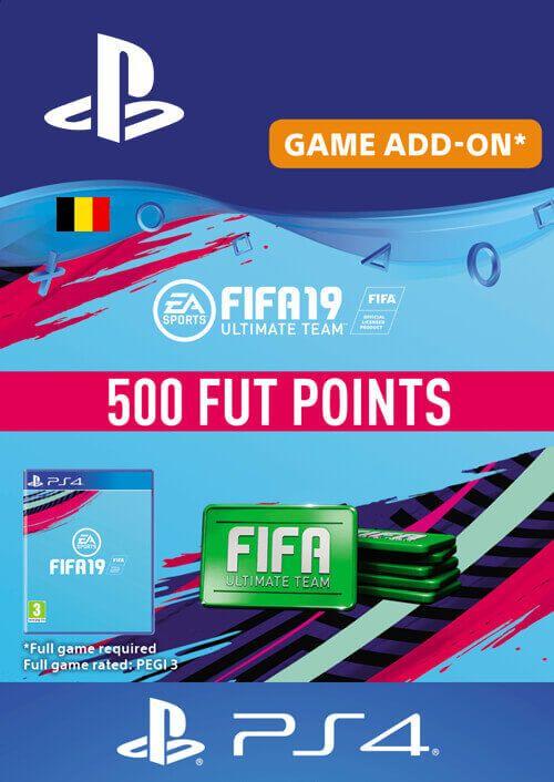FIFA 19 - 500 FUT Points PS4 Belgium, CDKEver.com