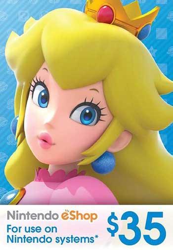 Nintendo eShop 35 USD Gift Card US, CDKEver.com