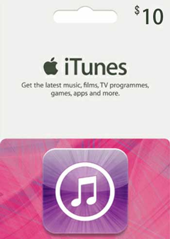 iTunes $10 Gift Card US