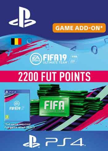 FIFA 19 - 2200 FUT Points PS4 Belgium, CDKEver.com