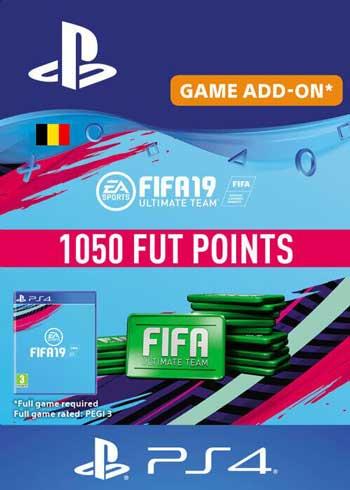 FIFA 19 - 1050 FUT Points PS4 Belgium, CDKEver.com