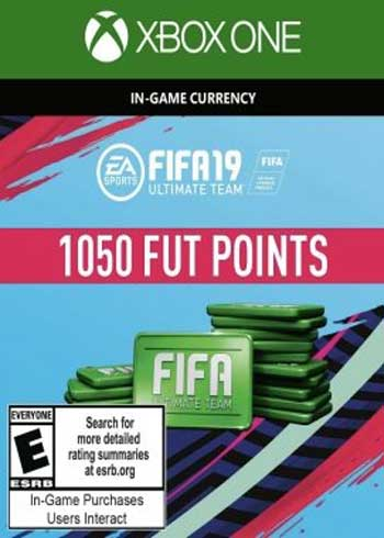 FIFA 19 - 1050 FUT Points Xbox One Global, CDKEver.com