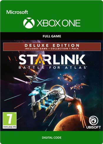 Starlink Battle for Atlas Deluxe Edition Xbox One CD Key Global, CDKEver.com