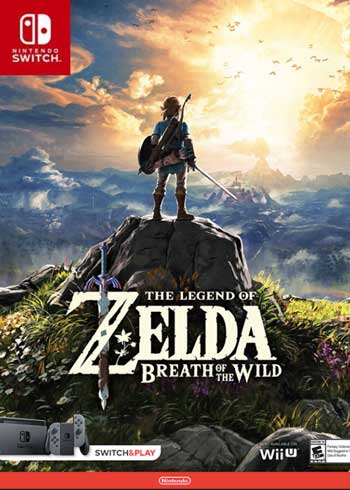 The Legend of Zelda - Breath of the Wild Switch CD Key US, CDKEver.com