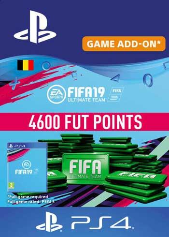 FIFA 19 - 4600 FUT Points PS4 Belgium, CDKEver.com