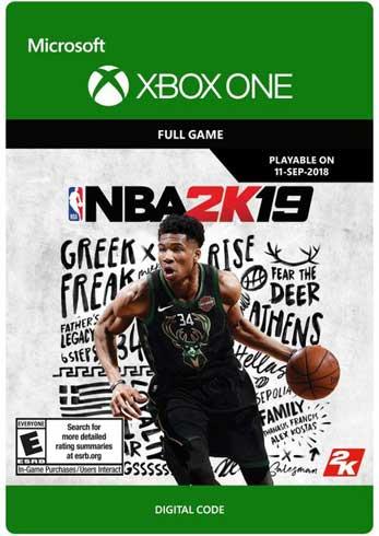 NBA 2K19 XBOX One CD Key Global, CDKEver.com