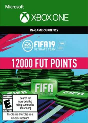 FIFA 19 - 12000 FUT Points Xbox One Global, CDKEver.com