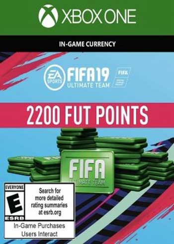 FIFA 19 - 2200 FUT Points Xbox One Global, CDKEver.com