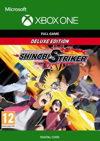 Naruto To Buruto Shinobi Striker Deluxe Edition Xbox One CD Key Global, CDKEver.com