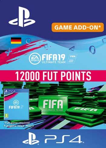 FIFA 19 - 12000 FUT Points PS4 DE, CDKEver.com